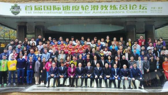 1st Seminar for Ambasadors Coaches