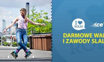 I Love Rolki X Ice'N'Roll – Darmowe warsztaty i zawody slalomowe