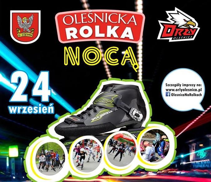 I Nightskating w Oleśnicy