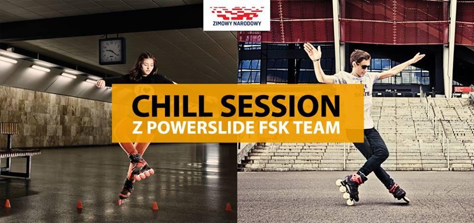 Chill Session z Powerslide FSK Team i I Love Rolki