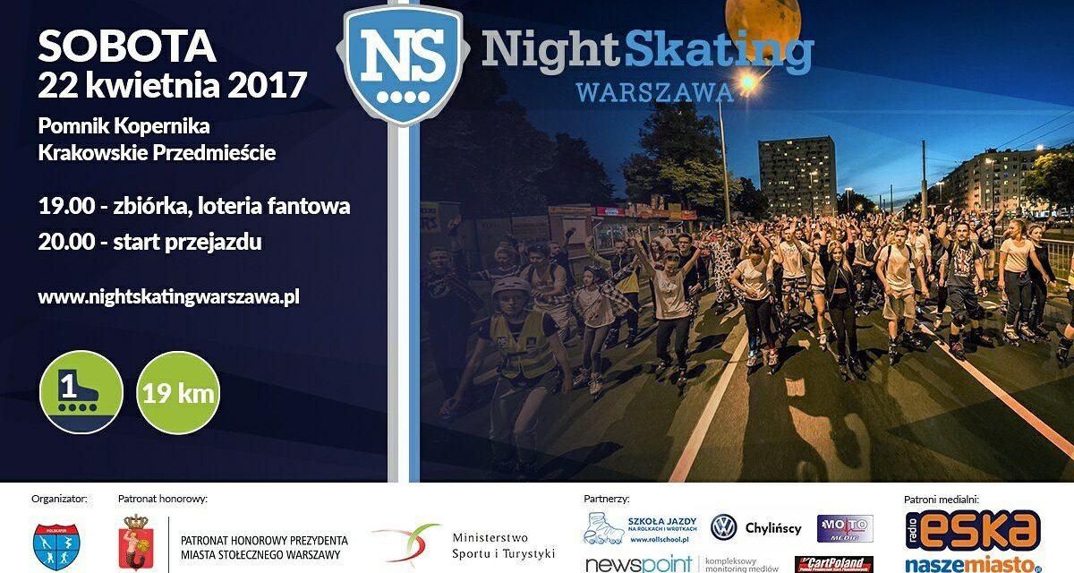 Rusza 7 sezon Nightskating Warszawa