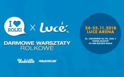 """Największe wydarzenie rolkowe w Polsce """"I LOVE Rolki xLUCE – darmowe warsztaty rolkowe"""" przeszło do historii"""